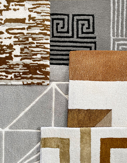 JD Staron_Handmade Tibetan Rugs with Pattern Collection_products_main
